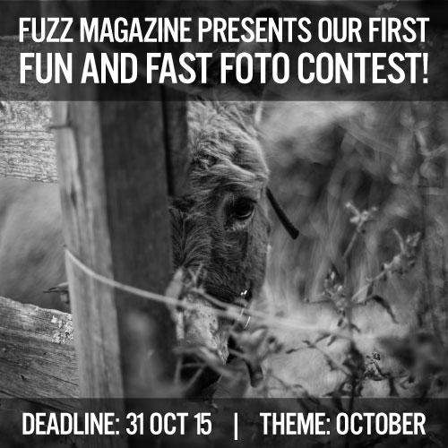 Fuzz Magazine Fun and Fast Foto Contest
