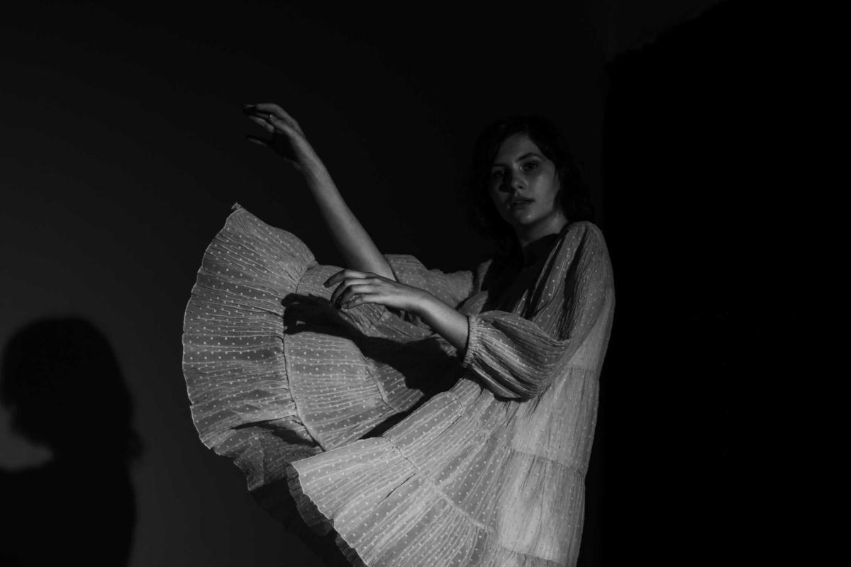model Eva Vinnychenko photographed by Anastasiia Maksymovych