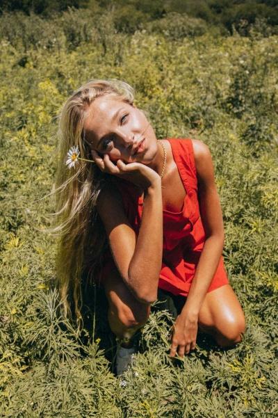 Serena Simes gorgeous model